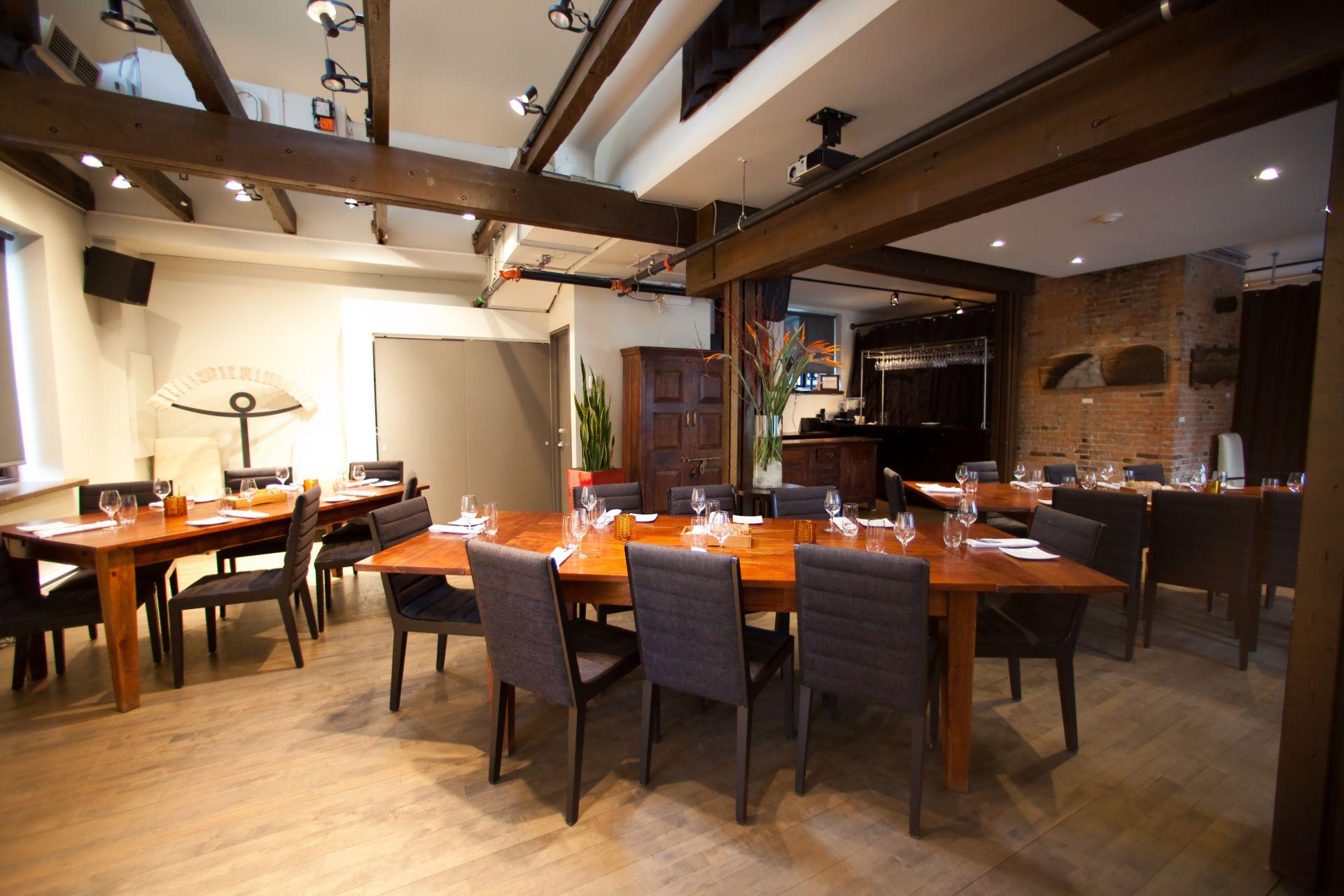 Alsq restaurant le local l 39 atelier montr al for Atelier cuisine montreal